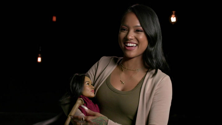 Karruche Tran Meets A Mini Version of Herself: Hollywood Puppet Shitshow First Date