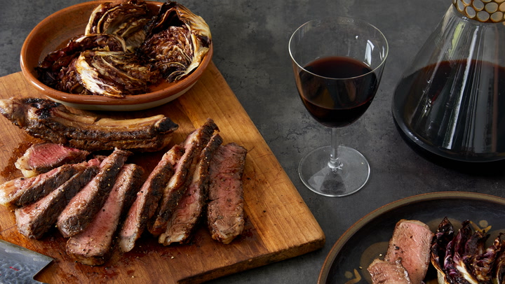 A Perfect Match: Butter-Basted Rib Eye with a Priorat Red