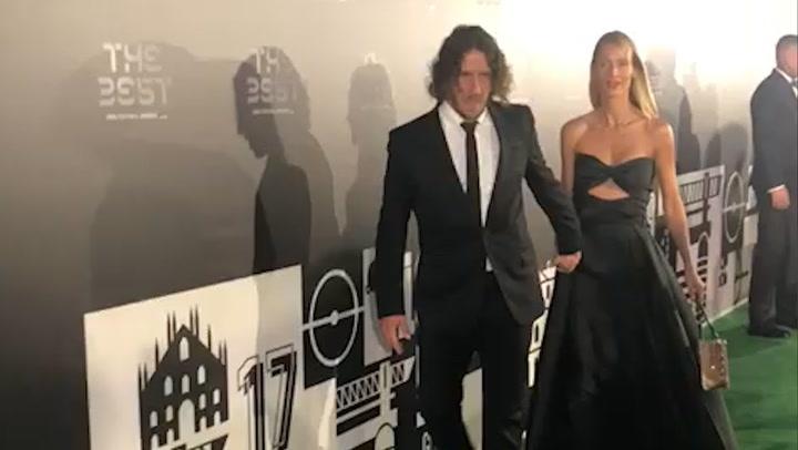 Puyol y Vanesa Lorenzo deslumbran en la alfombra verde