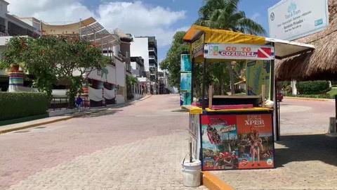 Pandemia arrasa con el sector turístico de México