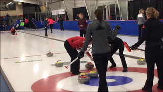 Girls on Ice at U.S. Curling Junior Nationals