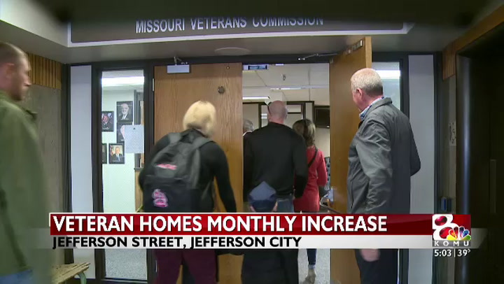 Missouri Veterans Homes monthly fee will increase