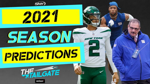 The Tailgate crew drops their Jets and Giants 2021 season predictions