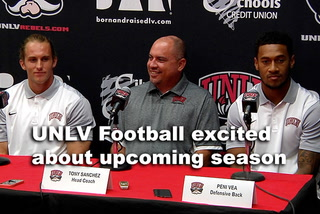 UNLV excited about upcoming football season