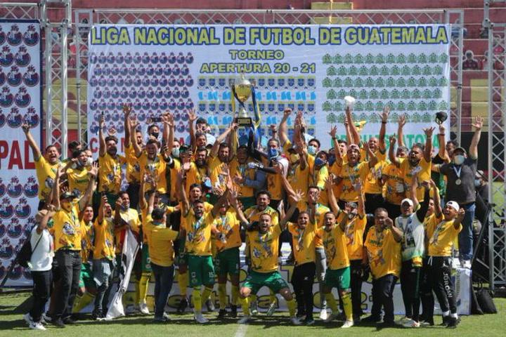 Guastatoya se corona campeón del fútbol de Guatemala ...
