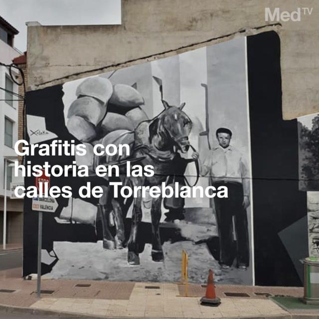 Grafitis con historia en las calles de torreblanca - El tiempo en torreblanca castellon ...