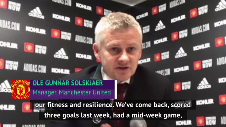 'Stranger things have happened' - Solskjaer on Man United title fight