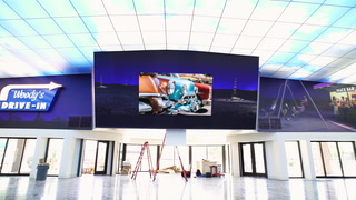 7x7 LED Videowall Installation at Museum