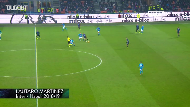 Inter's top five goals at home to Napoli