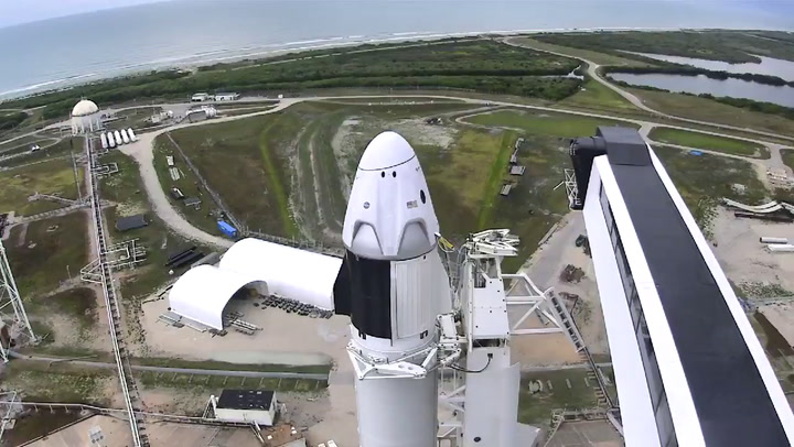 Llegó el día: SpaceX lanza este sábado al espacio la nave Crew Dragon