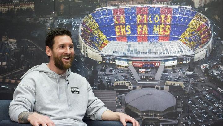 "Entrevista a Messi: ""Amo Barcelona, esta es mi casa"""