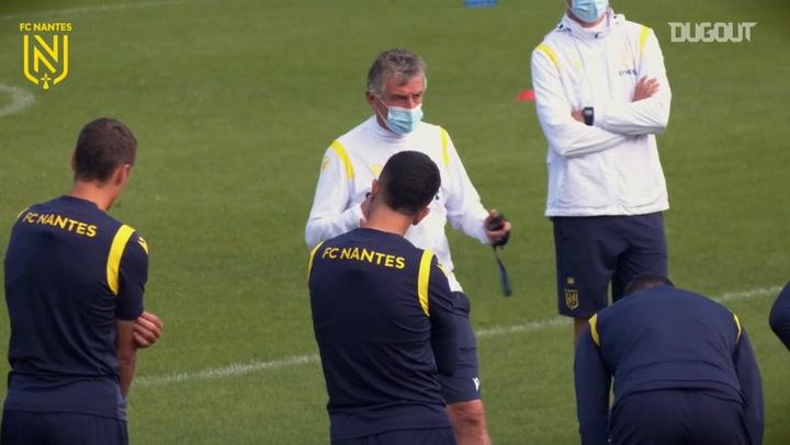 FC Nantes last preparations vs Monaco