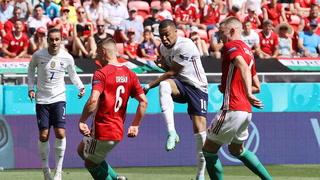 Hungría sorprende y frena a la poderosas selección de Francia en la Eurocopa 2021