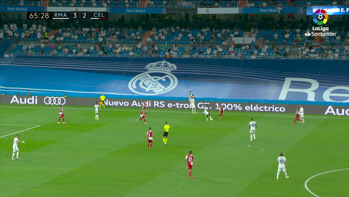 PRIMER BALON CAMAVINGA Real Madrid - RC Celta J4