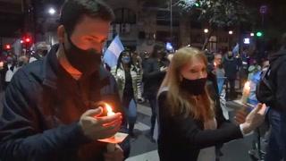 Marcha opositora en Argentina contra reforma judicial