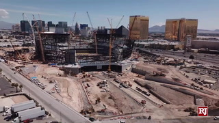 Raiders Stadium Gets New Angles From Above – VIDEO