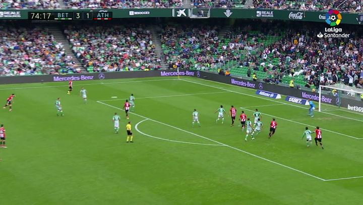 Gol 0302 Real Betis - Athletic Club J16 YURI