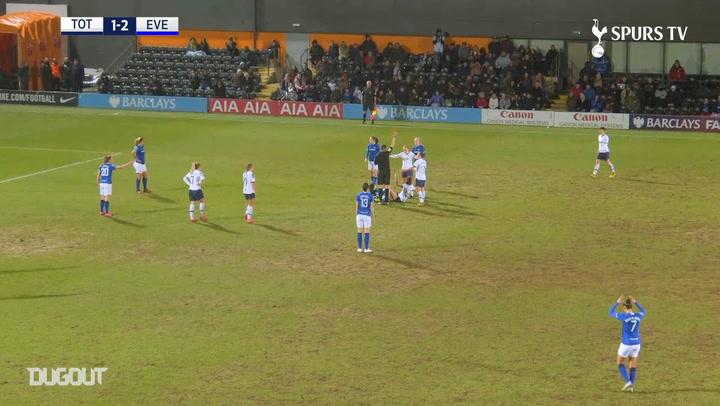 Emma Mitchell's rocket free-kick vs Everton