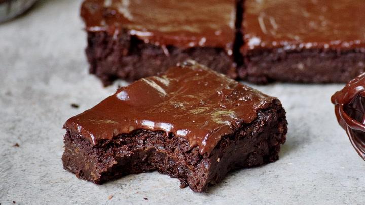 Healthy Brownies The Best Vegan Recipe Elavegan Recipes