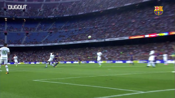 Barça's three forgotten goals in Gamper Trophy