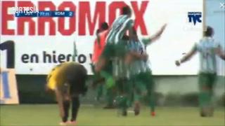 Juticalpa remonta 3-2 al Real de Minas con hattrick de Carlos Ovidio Lanza