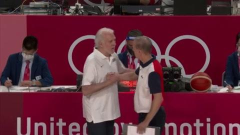 Estados Unidos cae ante Francia, su primera derrota en básquet olímpico desde 2004