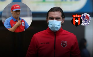 Técnico de Alajuelense muestra respeto a Olimpia:
