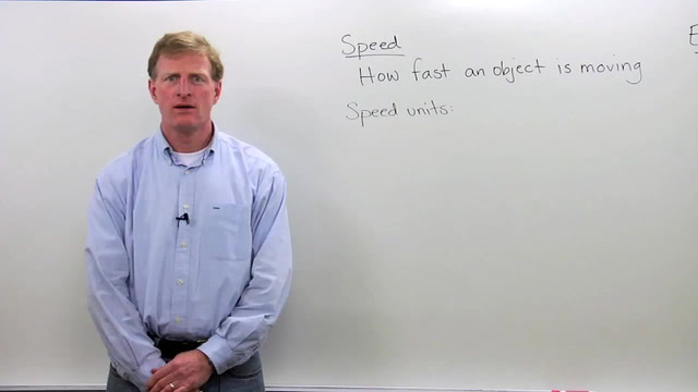 Speed-Instantaneous Speed