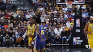 Lakers Beat The Warriors In Preseason