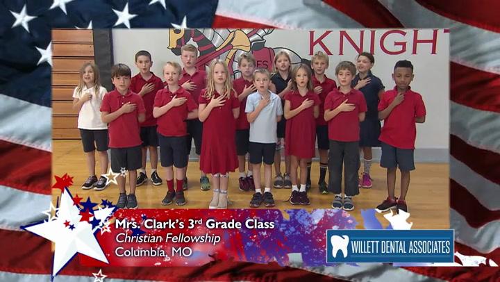 Christian Fellowship - Mrs. Clark - 3rd Grade