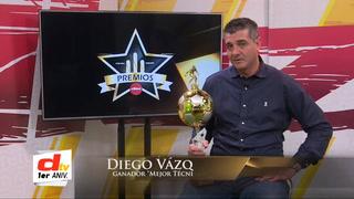 Diego Vázquez, electo mejor DT del 2018 en los Premios DIEZ