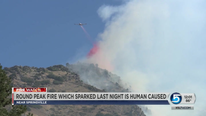 Forest Service Confirms Round Peak Fire Was Human Caused
