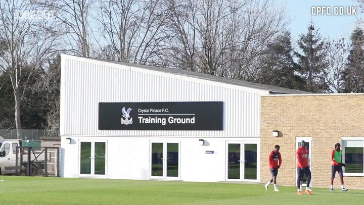 Crystal Palace Training Pre-Watford