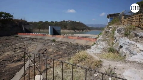 Poca captación de agua en represa