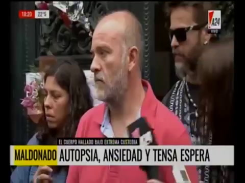 Sergio Maldonado: Es Santiago, lo reconocimos por los tatuajes