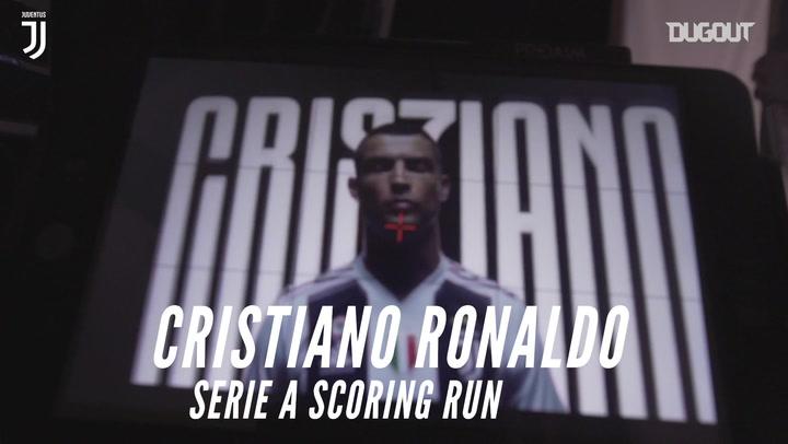 Cristiano Ronaldo's consecutive Serie A scoring run
