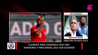 Reinaldo Rueda no confirma si estarán Alexis Sánchez y Arturo Vidal contra Honduras