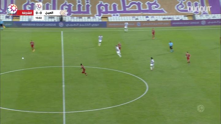 Highlights: Al-Ain 1-2 Sharjah