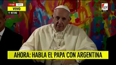 El Papa les pidió a los jóvenes de la Villa 31 que peleen por la vida