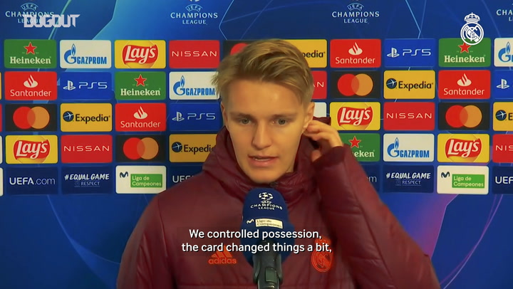 Ødegaard : 'I help the team in different situations'