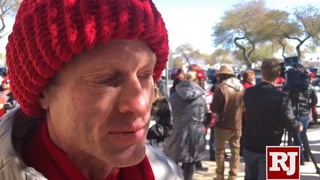 Educators dressed in red have taken to the streets to demand more for their students.
