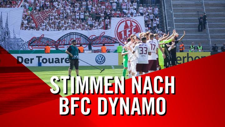 Stimmen nach BFC Dynamo