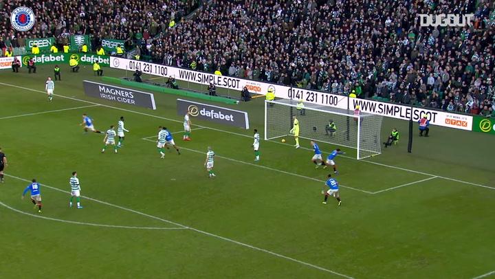 Katić scores winning goal at Celtic Park