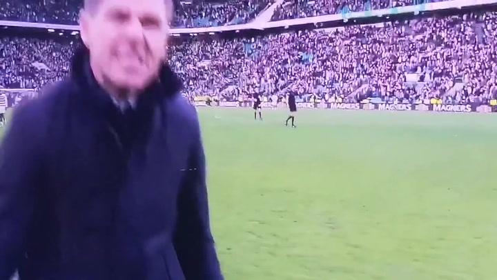 Gerrard, desatado tras vencer al Celtic con el Rangers