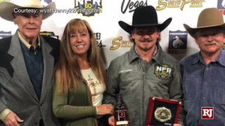 NFR – Wyatt Denny Talks About Representing Nevada