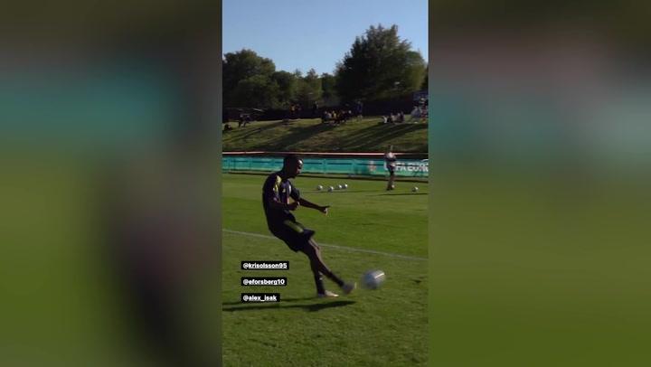 Isak: goles contra el Covid-19