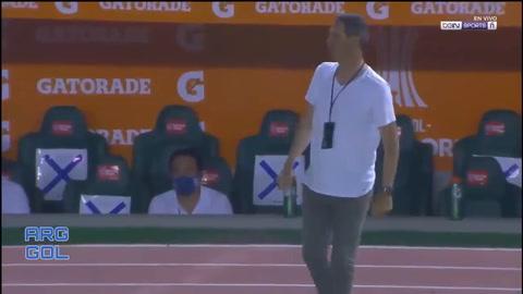 Rubilio Castillo anota gol histórico en la Copa Libertadores