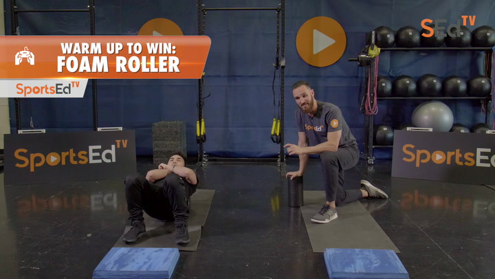 Warm Up To Win: Foam Roller Exercises for Esports 2
