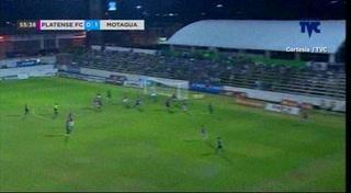 Juan Pablo Montes pone a ganar al Motagua ante Platense