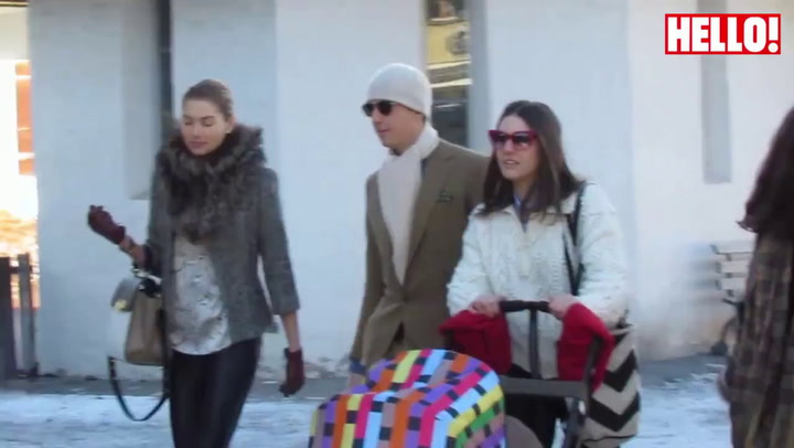 Valentino arrives in Gstaad ahead of Andrea Casiraghi\'s wedding